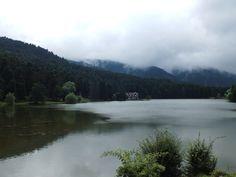 lake green cloudy