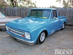 Custom 67 Chevy Truck | Customizing Chevrolet Gmc C10 Trucks 67 C10