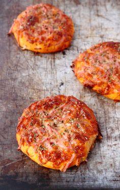 Pizzaboller med focacciabund