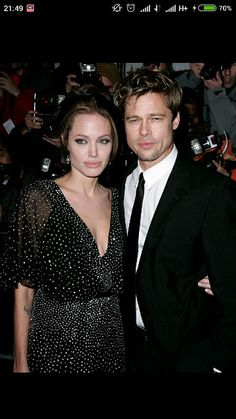 Angelina Jolie and Brad Pitt, first time ever in public show