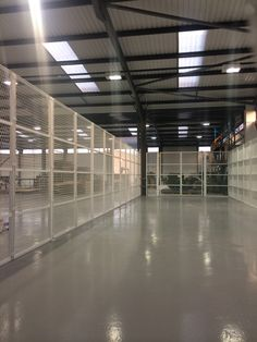 An inside view of our security enclosures fitted in a commercial warehouse in Slough. Bar, Offices, Warehouse, Commercial, Home Decor, Homemade Home Decor, Office Spaces, Decoration Home, Bureaus