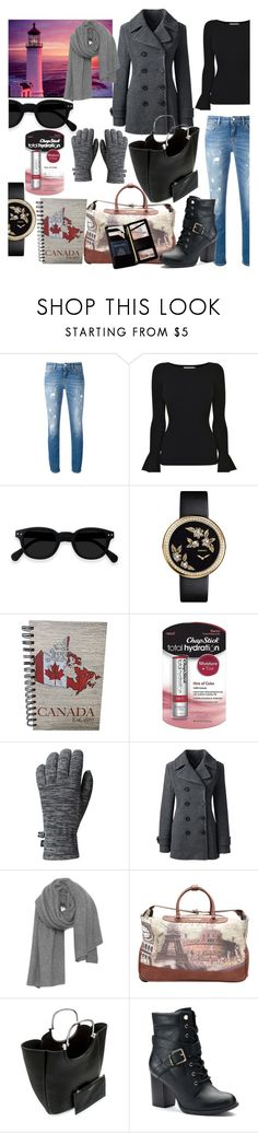 """lighthouses and skylines"" by audreybrookezaring ❤ liked on Polyvore featuring Dolce&Gabbana, MICHAEL Michael Kors, Chanel, Chapstick, Mountain Hardwear, Lands' End, American Vintage, Nicole Lee, 10 Crosby Derek Lam and Apt. 9"