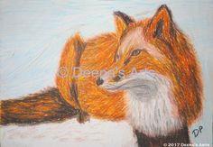 Oil pasteling a fox https://youtu.be/nXHizteyLPA