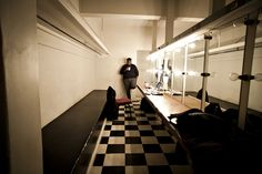 Backstage at the 2012 Red Bull Alexander Theatre, Braamfontein-JHB