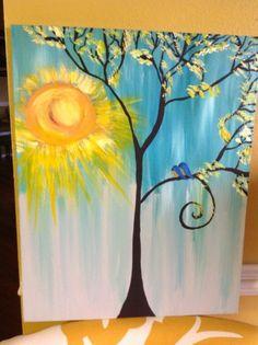 Acrylic art painting by Jane kerr