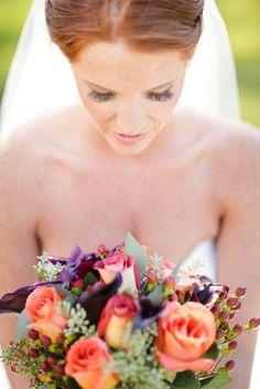 Fall Wedding Bouquet on COUTUREcolorado WEDDING