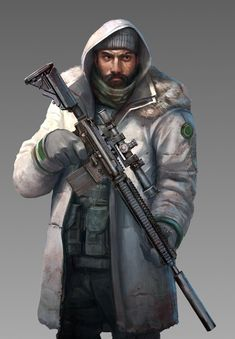 Bunker keeper , Roberto Robert on ArtStation at https://www.artstation.com/artwork/oAzOq