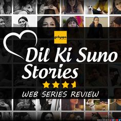 In the feud of heart and mind, who wins? Let's find out in Girliyapa's web series Dil Ki Suno. Here's our review. Web Series, Heart And Mind, Let It Be, Live, Image
