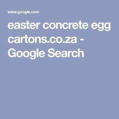 easter concrete egg cartons.co.za - Google Search Egg Cartons, Halloween Crafts, Concrete, Favors, Eggs, Easter, Craft Ideas, Decorations, Google Search