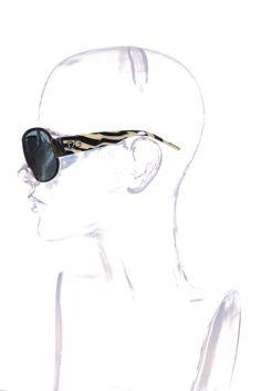 #DolceGabbana | Stylishe #Sonnenbrille mit #Zebramuster | Dolce & Gabbana Sonnenbrille | mymint-shop.com | Ihr #OnlineShop für #Secondhand / #Vintage Designerkleidung & #Accessoires bis zu -90% vom Neupreis das ganze Jahr #mymint