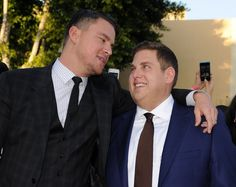 Pin for Later: Channing Tatum and Jonah Hill Throw a Party on the Red Carpet