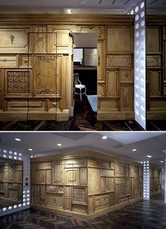 31_philliplim_Concept Feature_Wall Secret Rooms, Inside Me, Panelling, Dividers, Boat, Concept, Boutique, Dark, Outdoor Decor