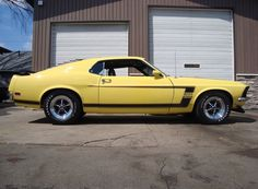 69 Boss 302 Concours restored