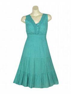 Turquoise Element Dress