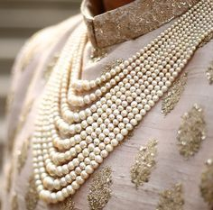 Pink - gold - pearls
