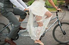 Les moineaux de la mariée: À bicyclette !