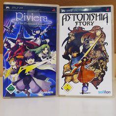 #JRPGs für #PSP machen mich #happy! #Sony #PlaystationPortable #Riviera #AstonishiaStory #RetroGaming #GameOfTheDay