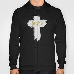 HOODY UNISEX ZIP BLACK SMALL BACK PRINT ZIP. JESUS | EASTER | CROSS.California Fleece Zip-up Hoody made with a 100% California Fleece cotton. Complete with kangaroo pocket this stretchy, comfortable fit, unisex cut includes double-stitched cuffs and hem.