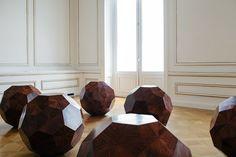 Divina Proportione, Huali wood, ø 130 / 70 cm. Photo by Paris Tavitian © Museum of Cycladic Art. Ai Weiwei, Modern Artists, Greece, China, Museum, Paris, Inspiring Art, Exhibit, Wood