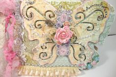 Pink Paislee Butterfly Garden (Jodie Lee) papers