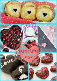 14 Heart Shaped Valentine's Desserts {The Weekly Round UP} - This Silly Girl's Life
