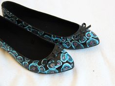 secret ballerinas from www. Painted Shoes, Ballerinas, Ballet Flats, Flats, Ballet Dancers