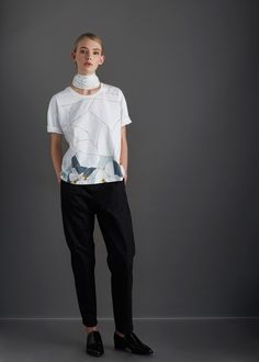 Kintsugi Top by Kowtow. Ethical organic cotton.