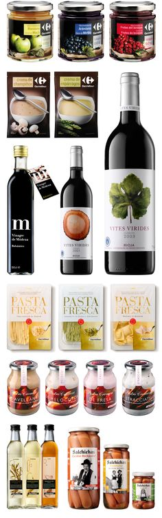 Enric Aguilera beautiful collection of #packaging for Carrefour PD