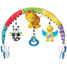 Baby Einstein Around the World Arch, 4 songs and nature sounds