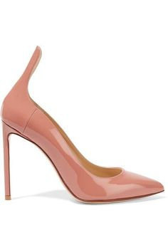 Francesco Russo - Patent-leather Pumps - Antique rose - IT