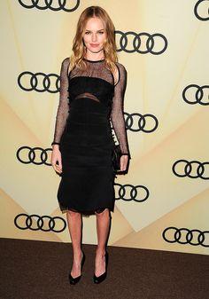 Kate Bosworth, en un look SS13 de Emilio Pucci, en el Kick Off Party de los Premios Golden Globe 2013 el 6 de enero 2013 en Los Angeles, California. http://www.vogue.mx/galerias/who-where-when-80/1665/image/1073539