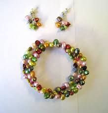 50 glaswachsperlen glass pearls 8mm marron clair