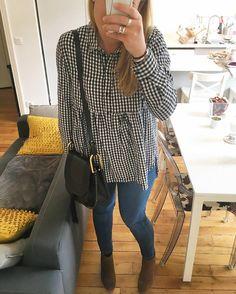 """111 mentions J'aime, 5 commentaires - Morgane  (@morgane_paname) sur Instagram: """"Bon après-midi les filles  #ootd tunique et jean #zara boots #jonak sac #chloe #chloegirl…"""""""