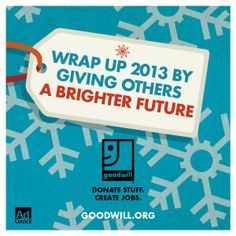 Every Goodwill success story begins with a donation.