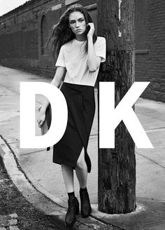 DKNY Spring Summer 2016 Campaign - Adrienne Juliger