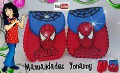 MOCHILITAS DE SPIDERMAN EN FOAMY O GOMA EVA PARA DAR COMO DULCEROS ... Baby Shark, Ronald Mcdonald, Projects To Try, Lunch Box, Disney, Blog, Party Ideas, Sewing, Spider Man