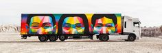 Spain's network of trade transportation routes hosts truck art project. The cultural program sees the transformation of commercial vehicles into a fleet of mobile...