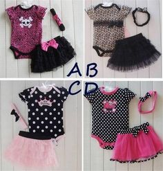 Baby clothing set girl 3 pcs Romper +Tutu Skirt + Headband suit Polka-dot princess clothes infant outfits US $8.74