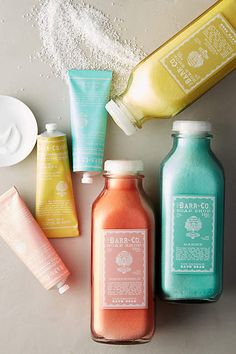 Could these colors be any more beautiful?? Barr-Co. Hand Cream - anthropologie.com