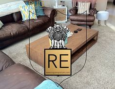 Shaggy Rugs, Rug Making, Behance, Couch, Table, Projects, Furniture, Home Decor, Log Projects