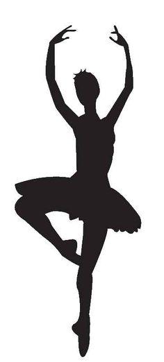 ballerina silhouette                                                                                                                                                     More