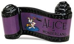 Disney's WDCC figurine Opening Title for Alice In Wonderland