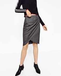 DRAPED SKIRT-View all-SKIRTS-WOMAN | ZARA United States