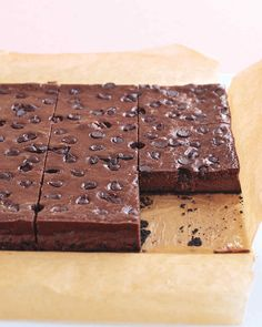These light cheesecake brownies get their rich taste from reduced-fat cream cheese, reduced-fat sour cream, and unsweetened cocoa powder.