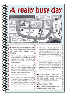 A REALLY BUSY DAY worksheet - Free ESL printable worksheets made by teachers