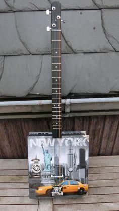 die 8 besten bilder von ring binder box guitar - new york - unikat