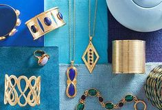 Beautiful gold pieces for the perfect summer look!