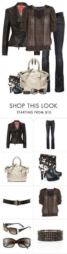 """Animal Print Boots (II)"" by partywithgatsby ❤ liked on Polyvore featuring Vivienne Westwood, Mother, Coach, Alexander McQueen, Karen Millen, Isabel Marant, Fendi and Erickson Beamon"