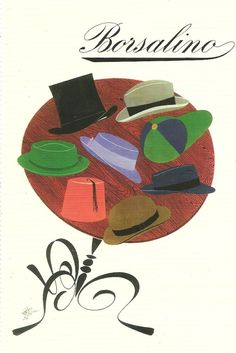 Max Huber - Borsalino Hats