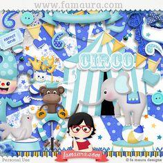 Kit - Blue Circus by Fa Maura